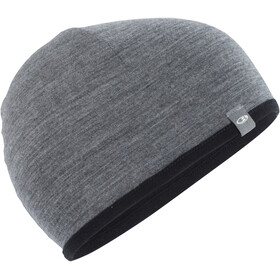 Icebreaker Pocket Hat, black/gritstone heather